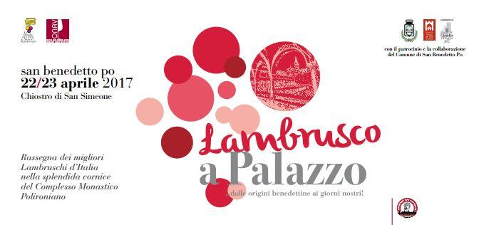 Lambrusco a Palazzo: il re dei rossi frizzanti si racconta