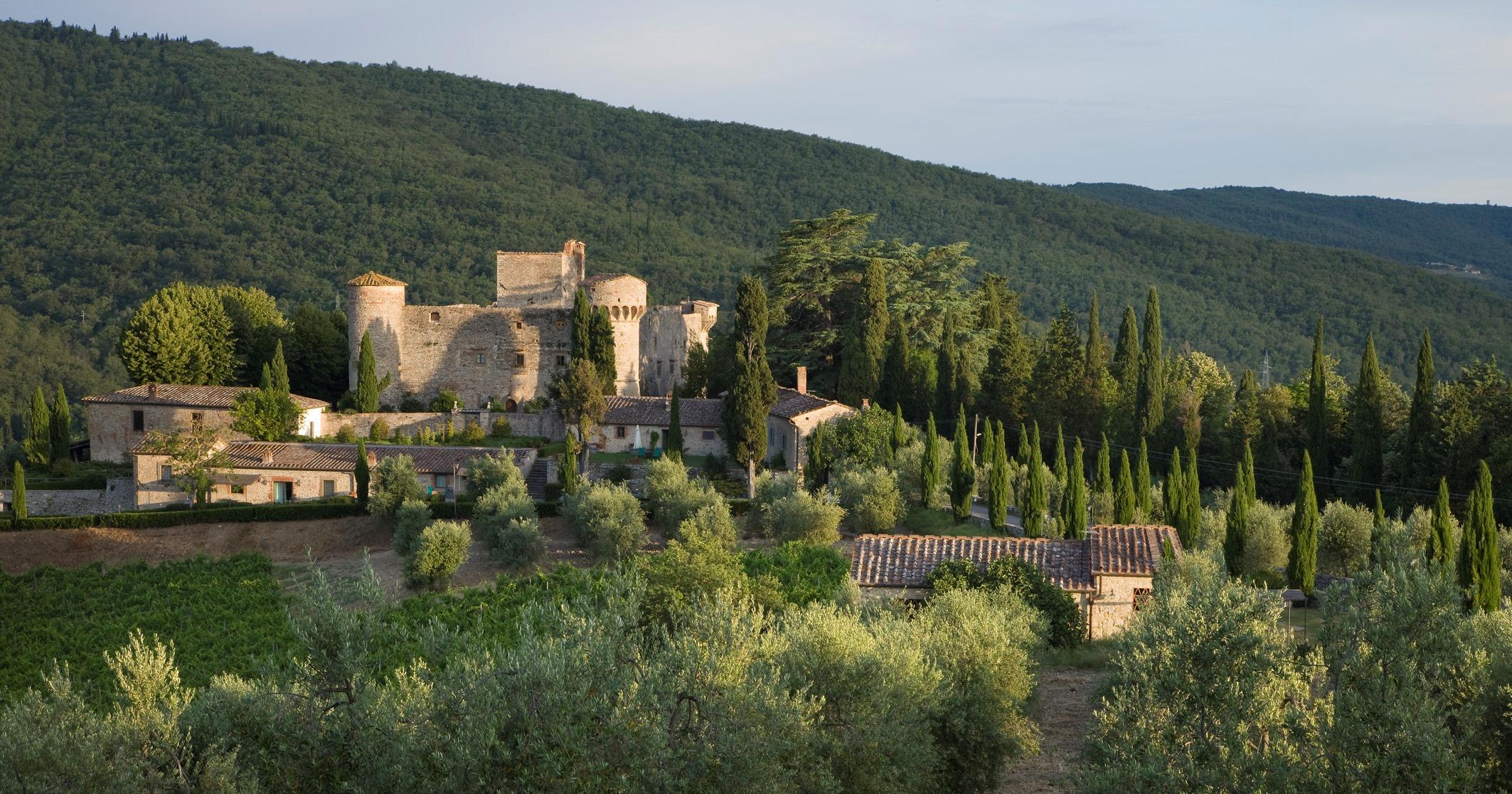 Castello di Meleto e le affinità elettive