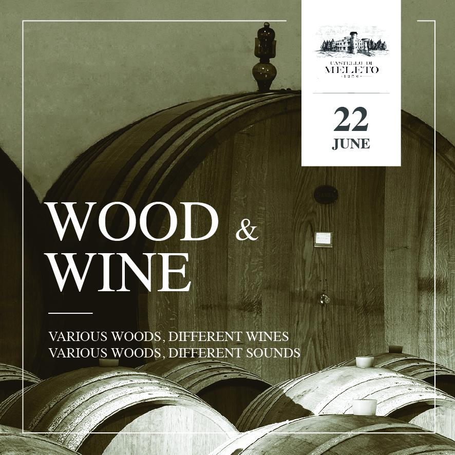 WOOD&WINE: nei calici estivi note live e degustazioni speciali