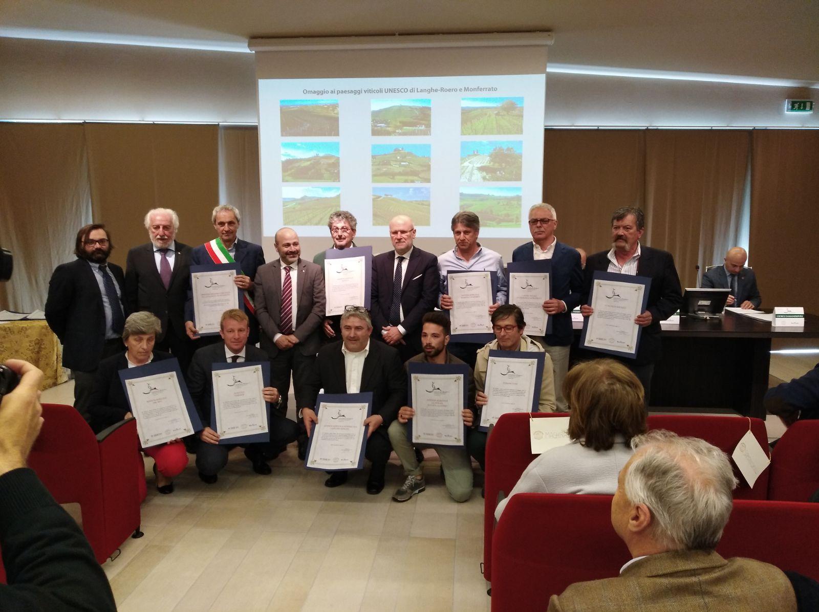 L'UNESCO PREMIA FERRARIS AGRICOLA PER VIGNA DEL PARROCO E COLLINA SANT'EUFEMIA