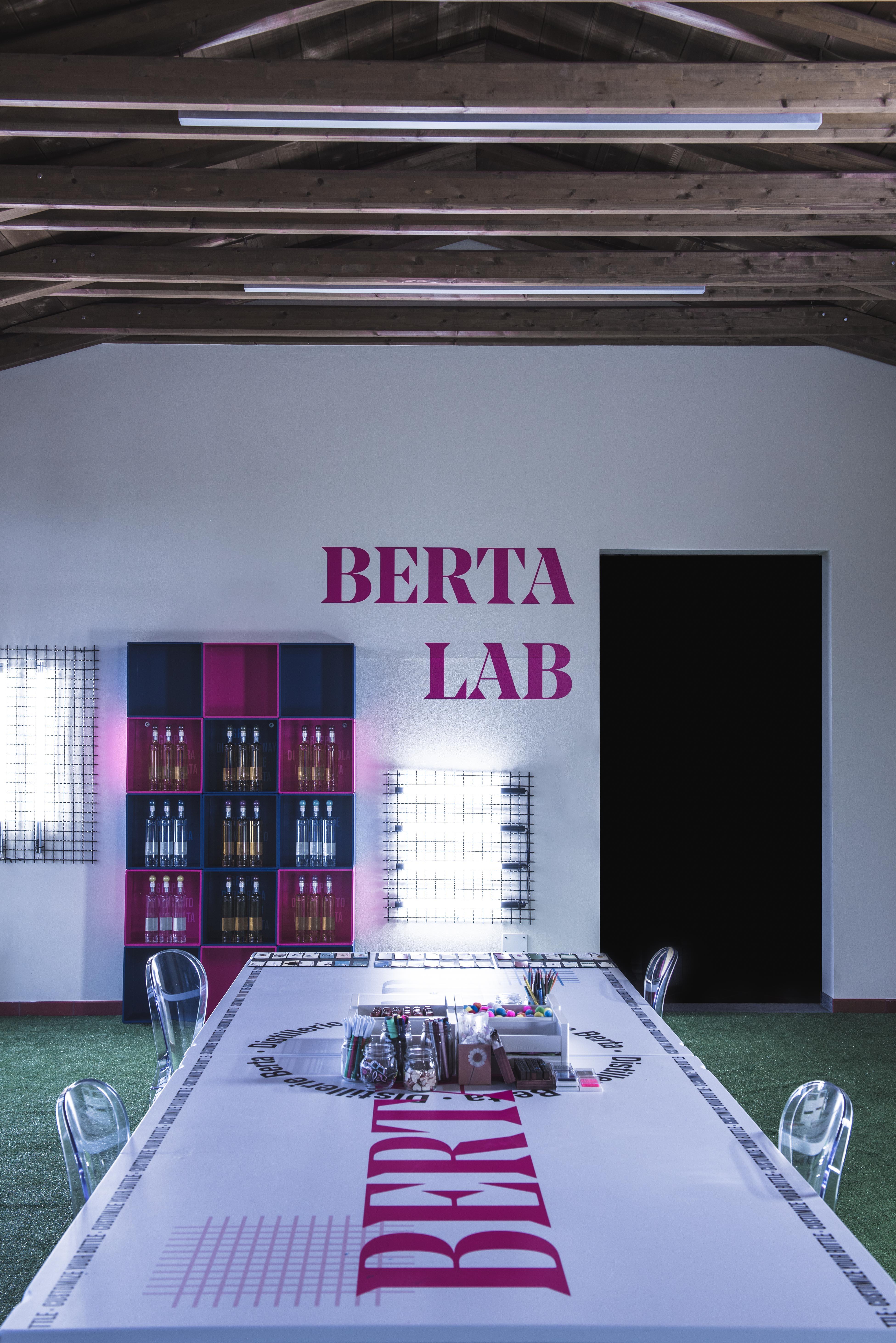BERTA LAB: IL NUOVO SPAZIO DEDICATO ALLA CREATIVITA'