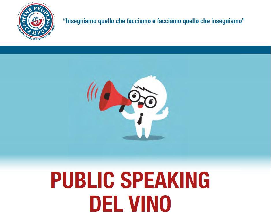 Campus Public Speaking per il mondo del vino